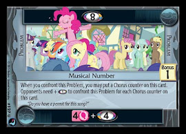 My Little Pony Musical Number High Magic CCG Card