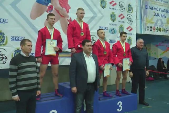 В городе Херсоне прошел Чемпионат Украины по САМБО.