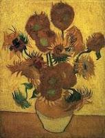 Ван Гог. Ваза с пятнадцатью подсолнухами. Арль, январь 1889. Холст, масло, 95х73.