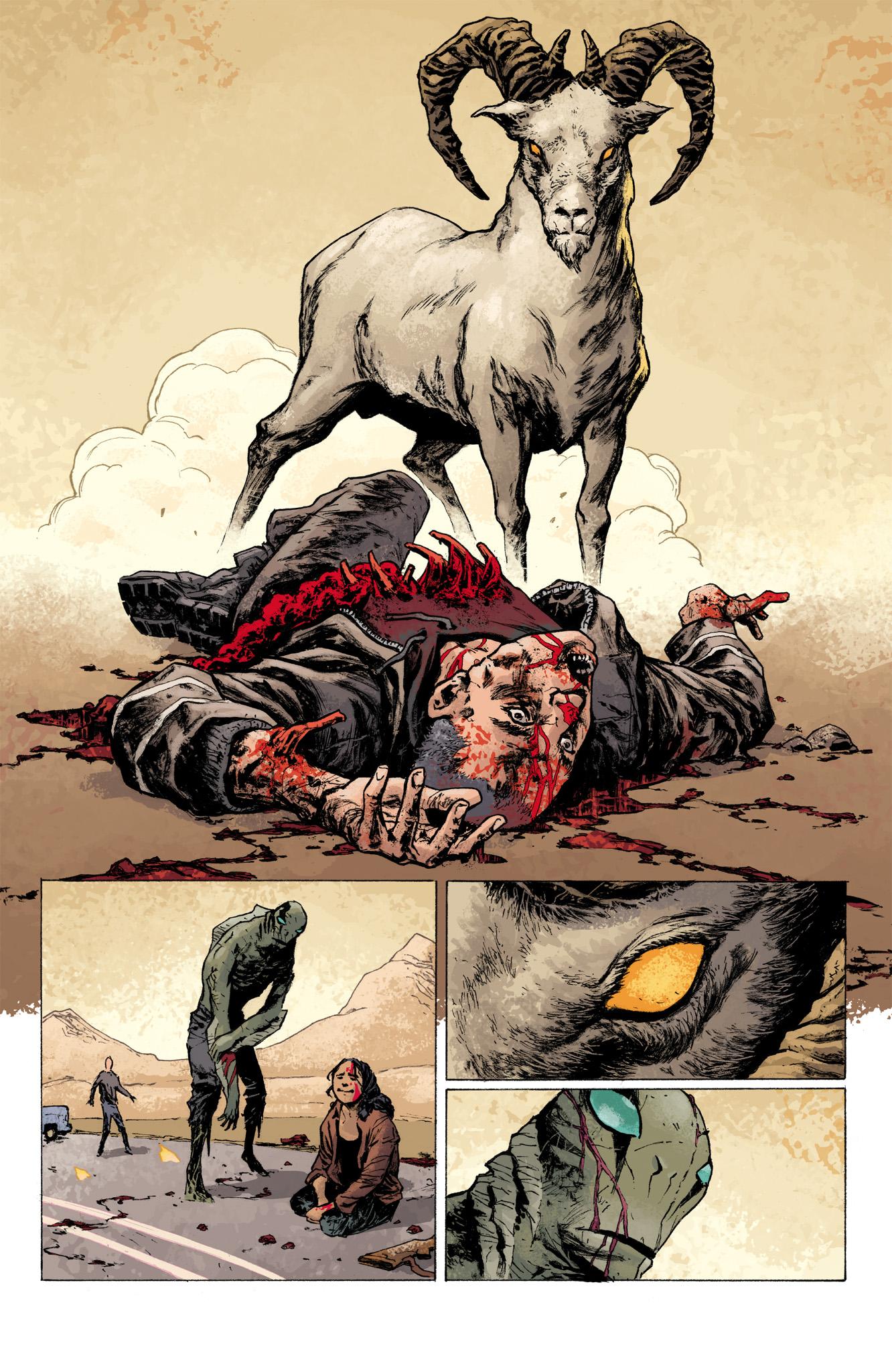 Read online Abe Sapien comic -  Issue #7 - 22
