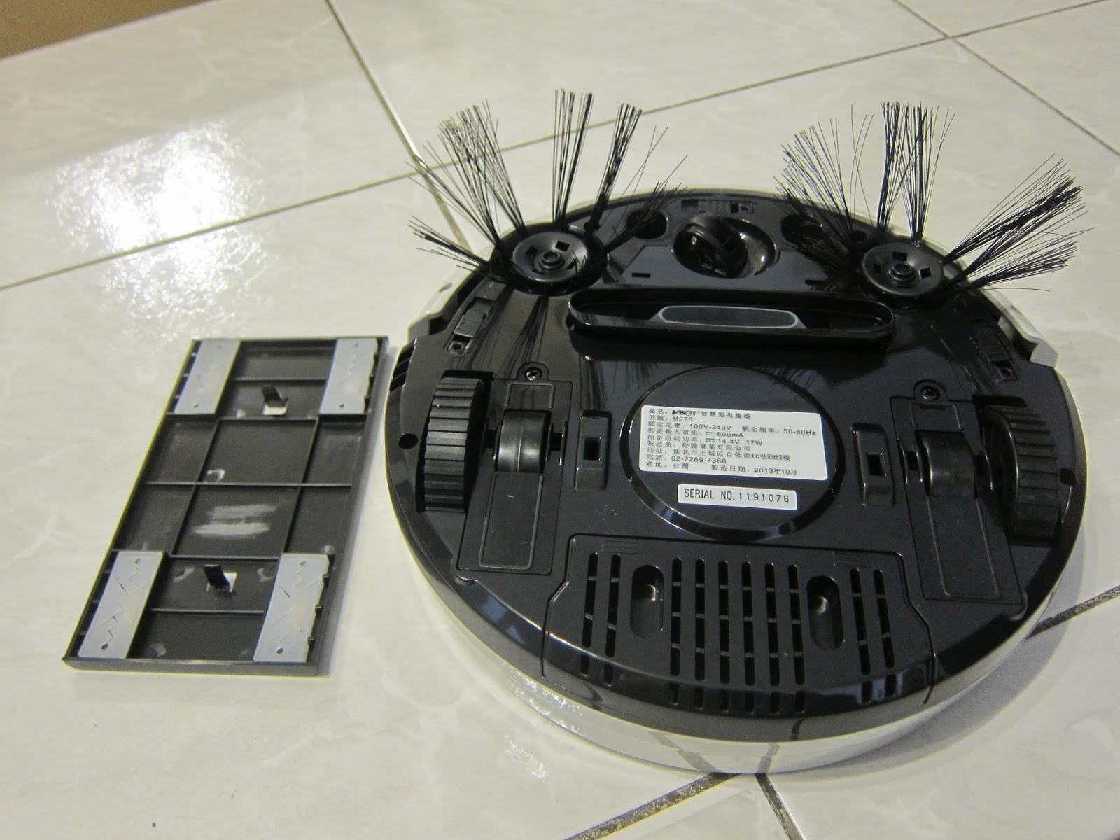 IMG 2254 - [開箱] V-BOT M270 迷你智慧型掃地機器人