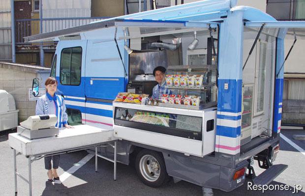 Japan society earthquake survivors and lawson more than for Mobili convenienti
