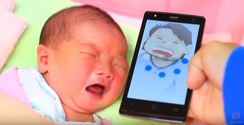 Aplikasi Ini Bisa Membantu Ibu Mengenali Maksud Tangisan Bayi