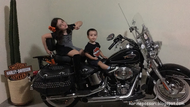 decoração Harley Davidson