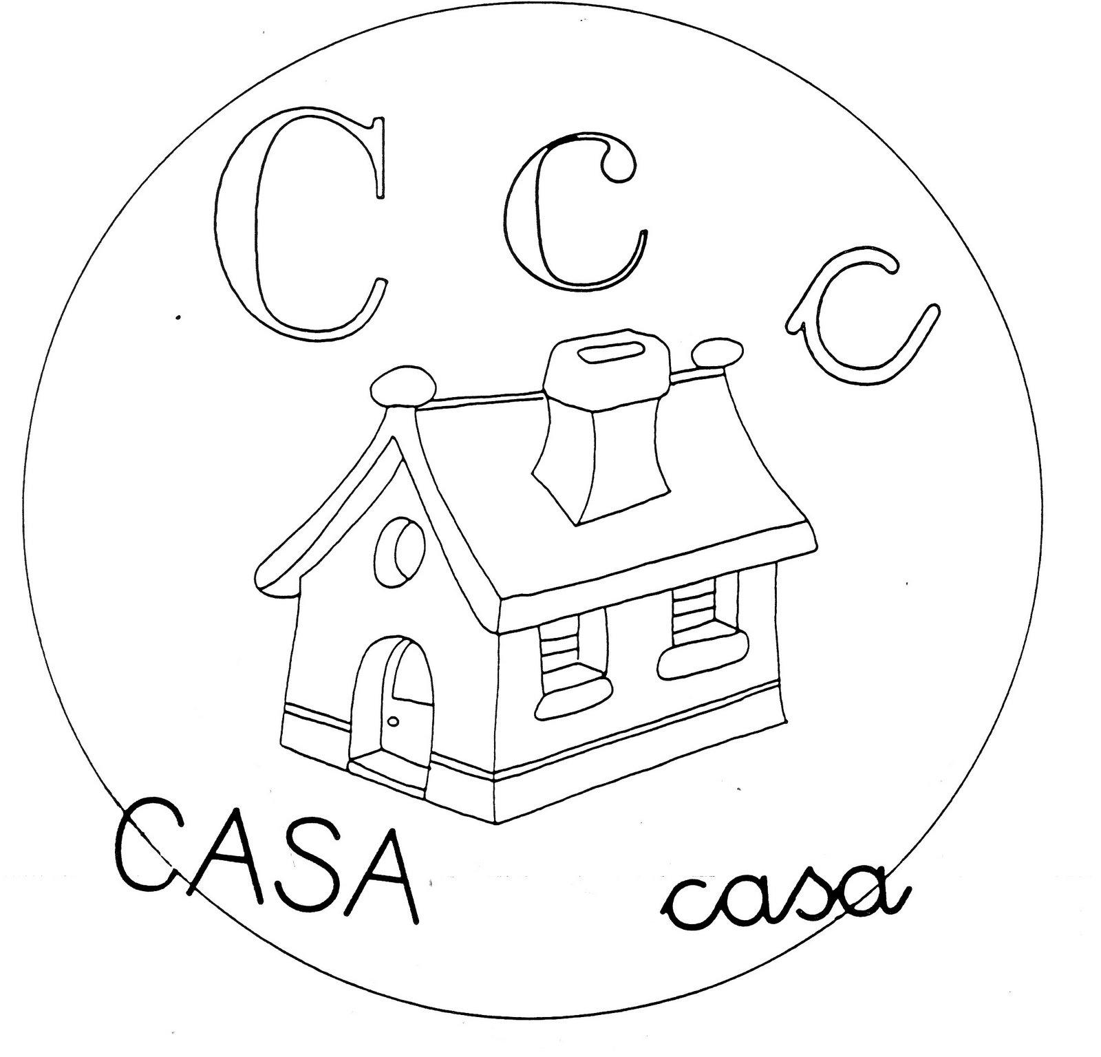 Cosas De Casa Para Colorear. La Casa Infantil Es Una Web Con El ...