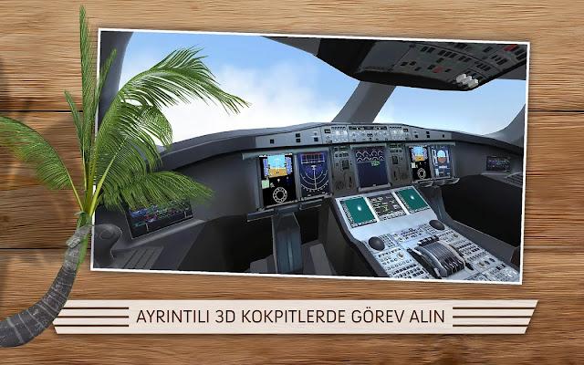 take off the flight simulator para hile apk indir