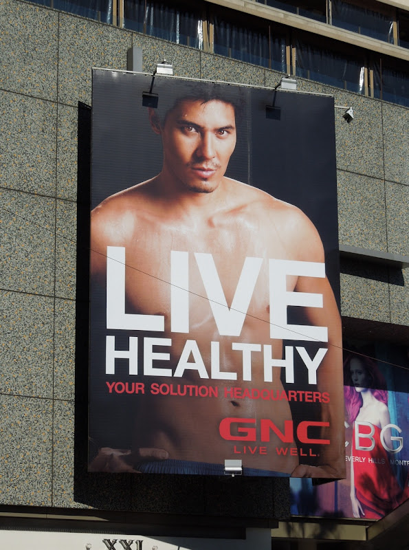 GNC Live Healthy 2012 billboard