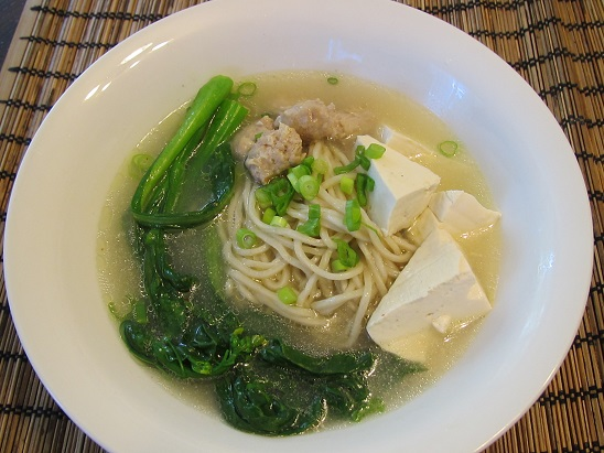 Super Healthy Noodle Soup In Fish Broth My Easy Cook
