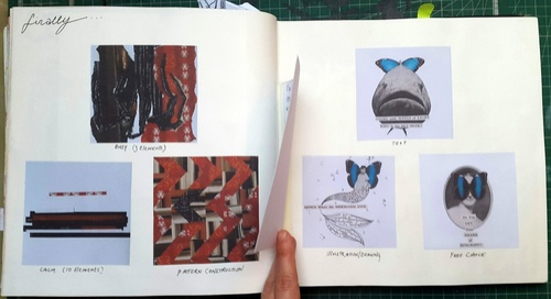 Whoopidooings - Stage 1 - Rotations Sketchbook - Collage