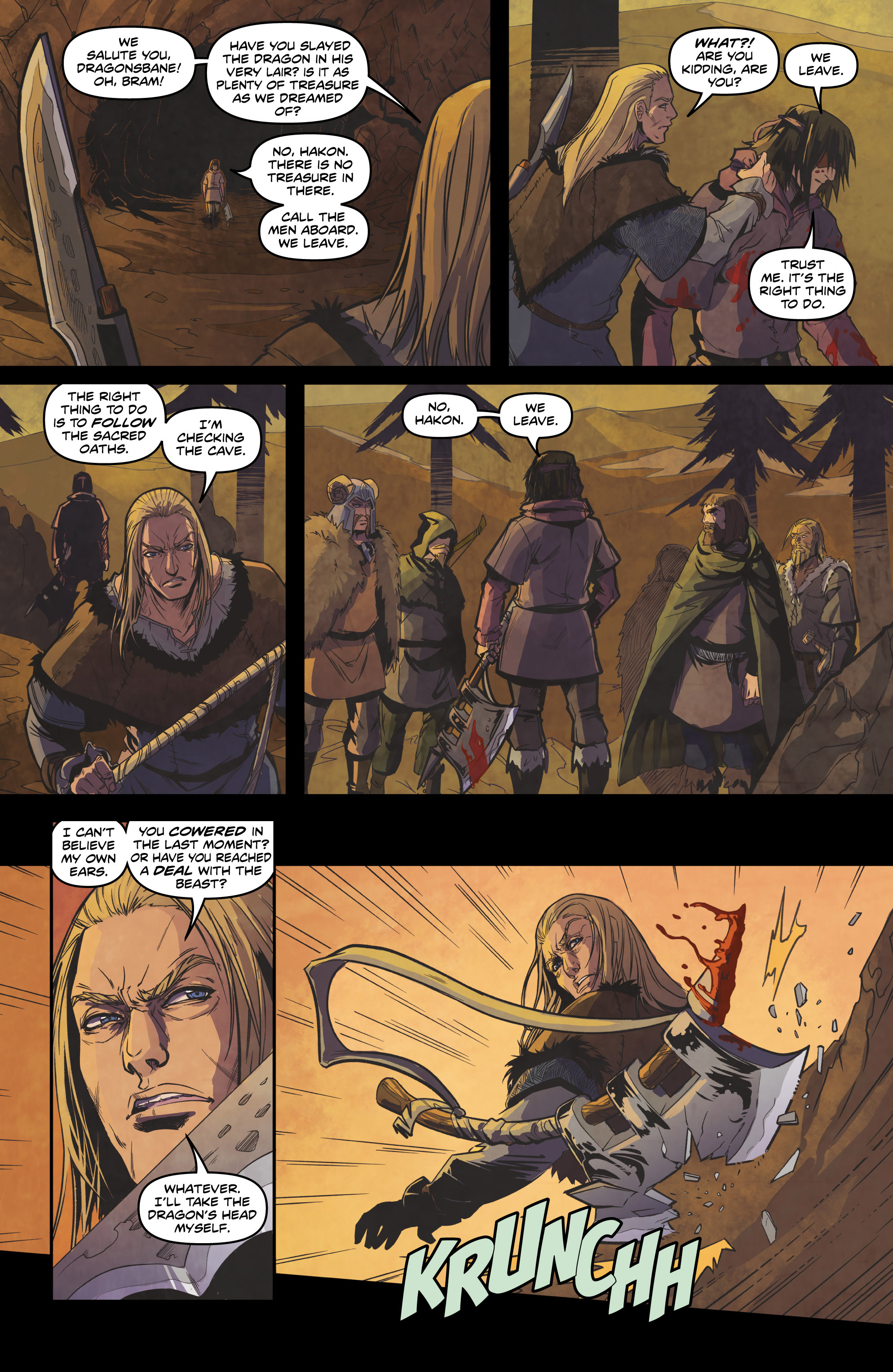 Read online Rogues! (2014) comic -  Issue #4 - 16
