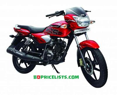 TVS Phonix 125 Motorcycle Species & Price In Bangladesh