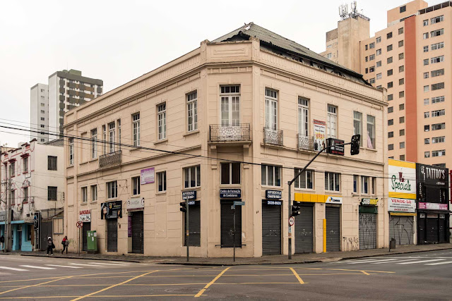 A antiga sede da Ferragens Rodolpho Senff