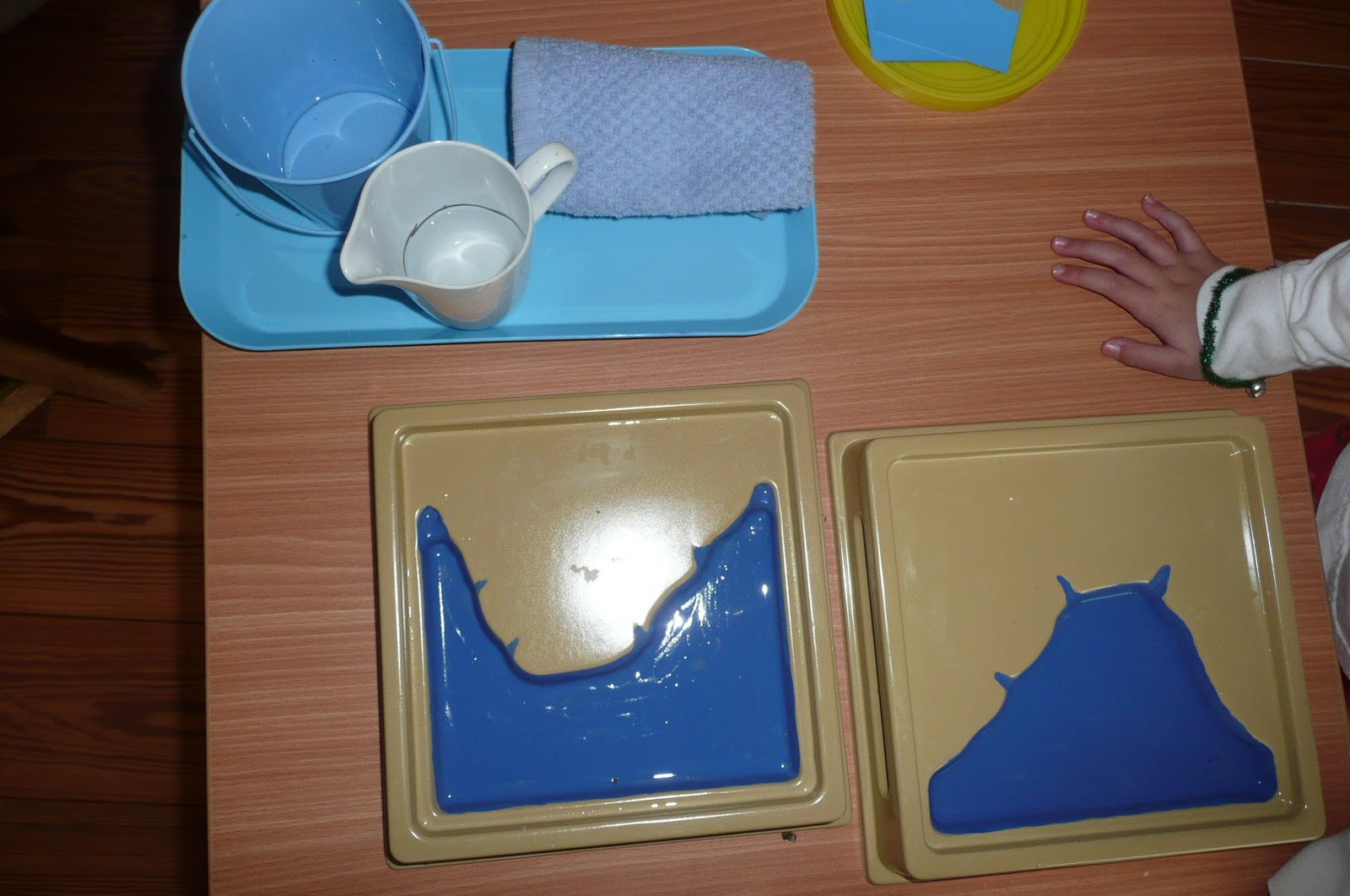 Montessori Teachings Land And Water Forms Cape And Bay