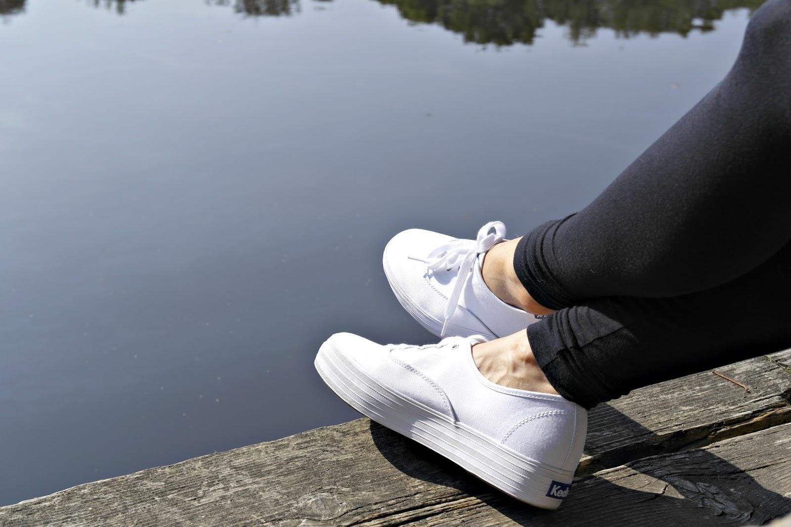 White Keds, size 8.5
