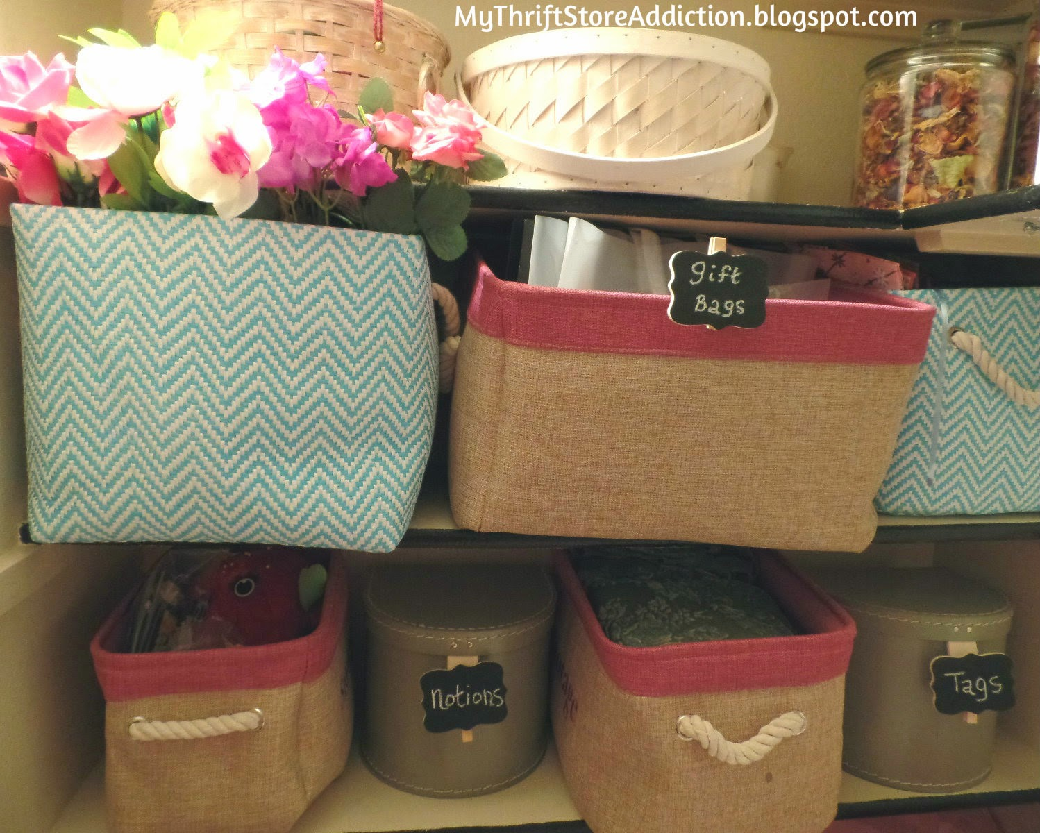 Baskets for organization