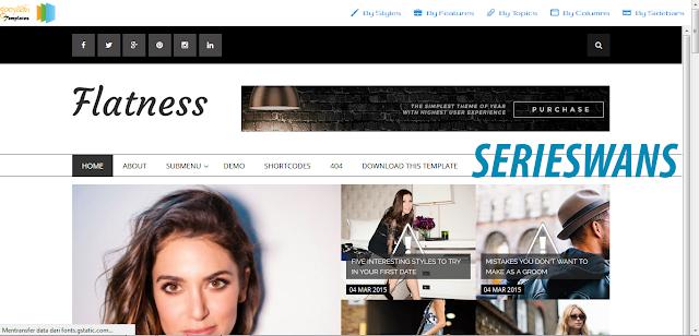 Download Template Flatness Blogger Responsive Terbaru