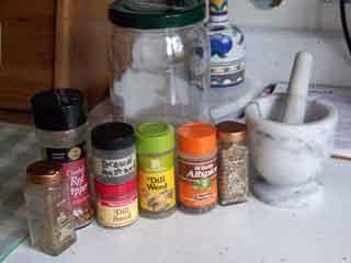 Half Sour Pickle ingredients