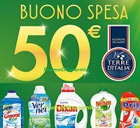 Logo Da Carrefour vinci buoni spesa da 50 euro con Henkel