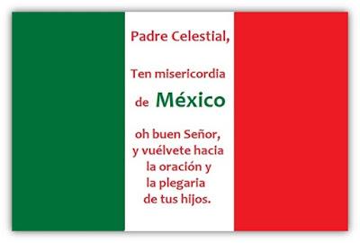 Oración para México por los Sismos, Temblores y Terremotos