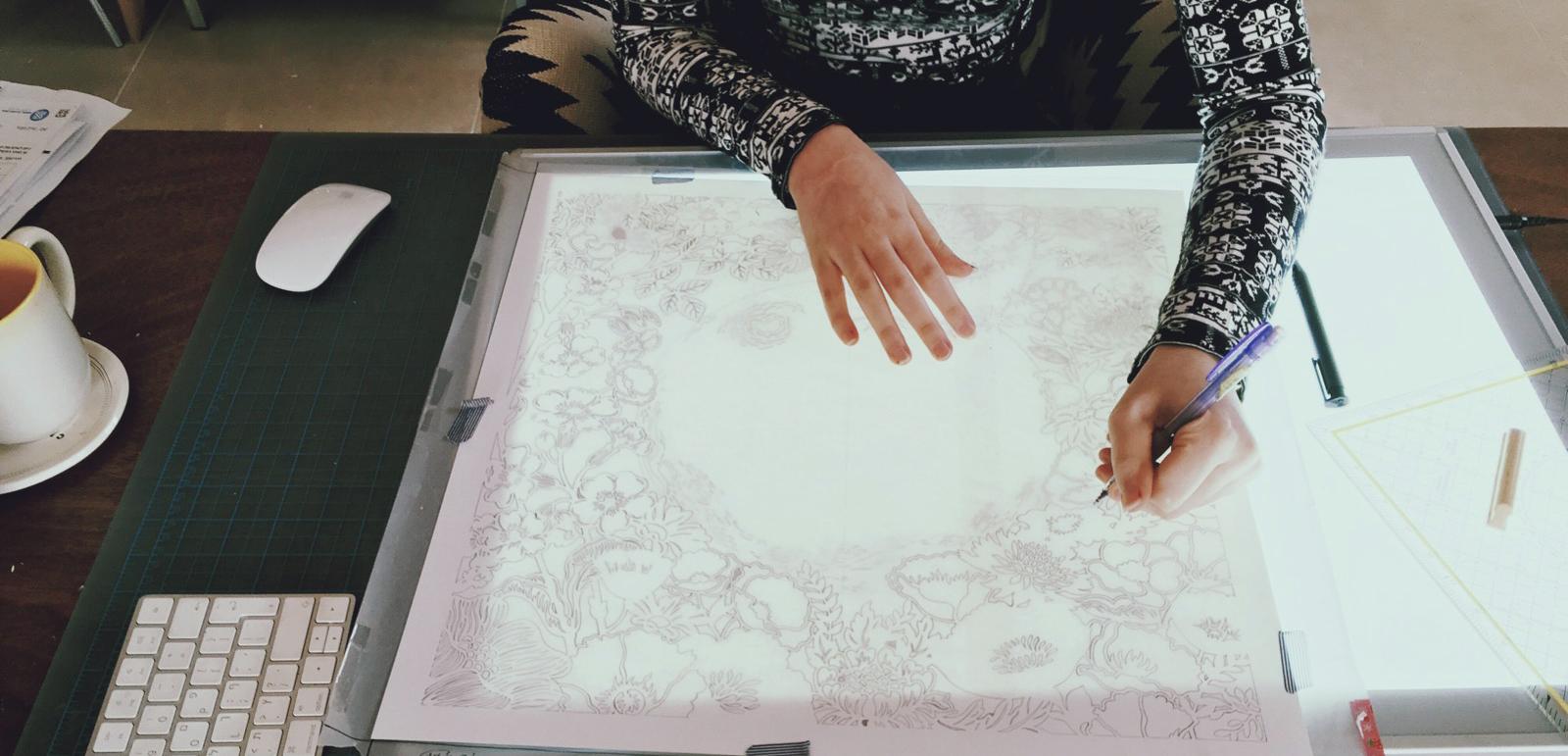 papercutting step 1