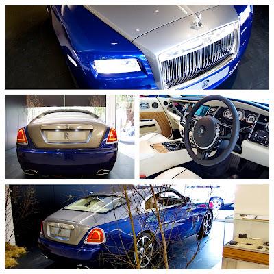 Photos of Rolls-Royce Wraith from London