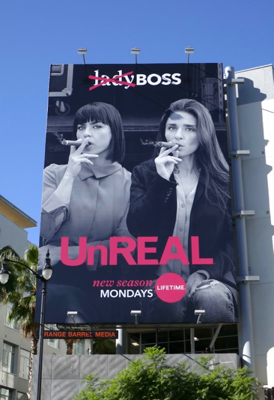 UnREAL season 3 billboard