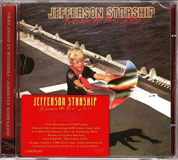 JEFFERSON STARSHIP - Freedom At Point Zero (Rock Candy remastered) full