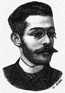 Σκίτσο του Γεωργίου Δροσίνη από περιοδικό του 1889