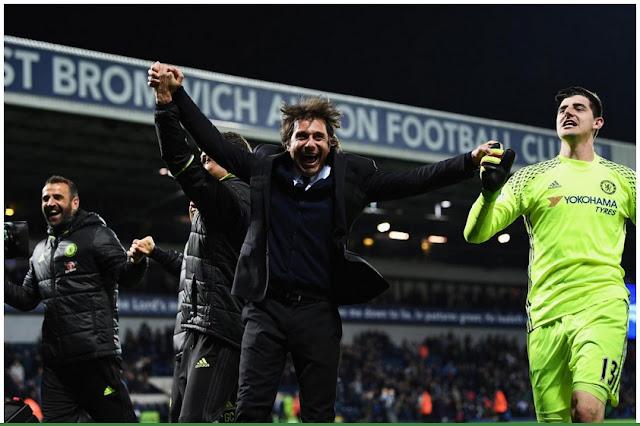 Chelsea Juara Premier League 2016/2017