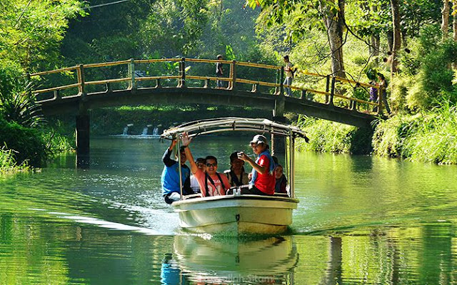 Keliling Danau Andeman di Desa Wisata Sanankerto Malang