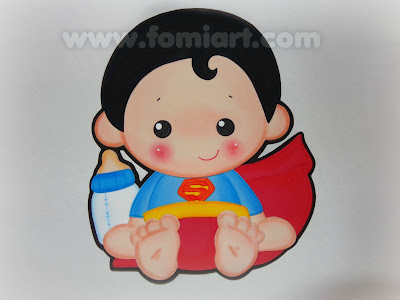 superman super heroes babys gratis moldes