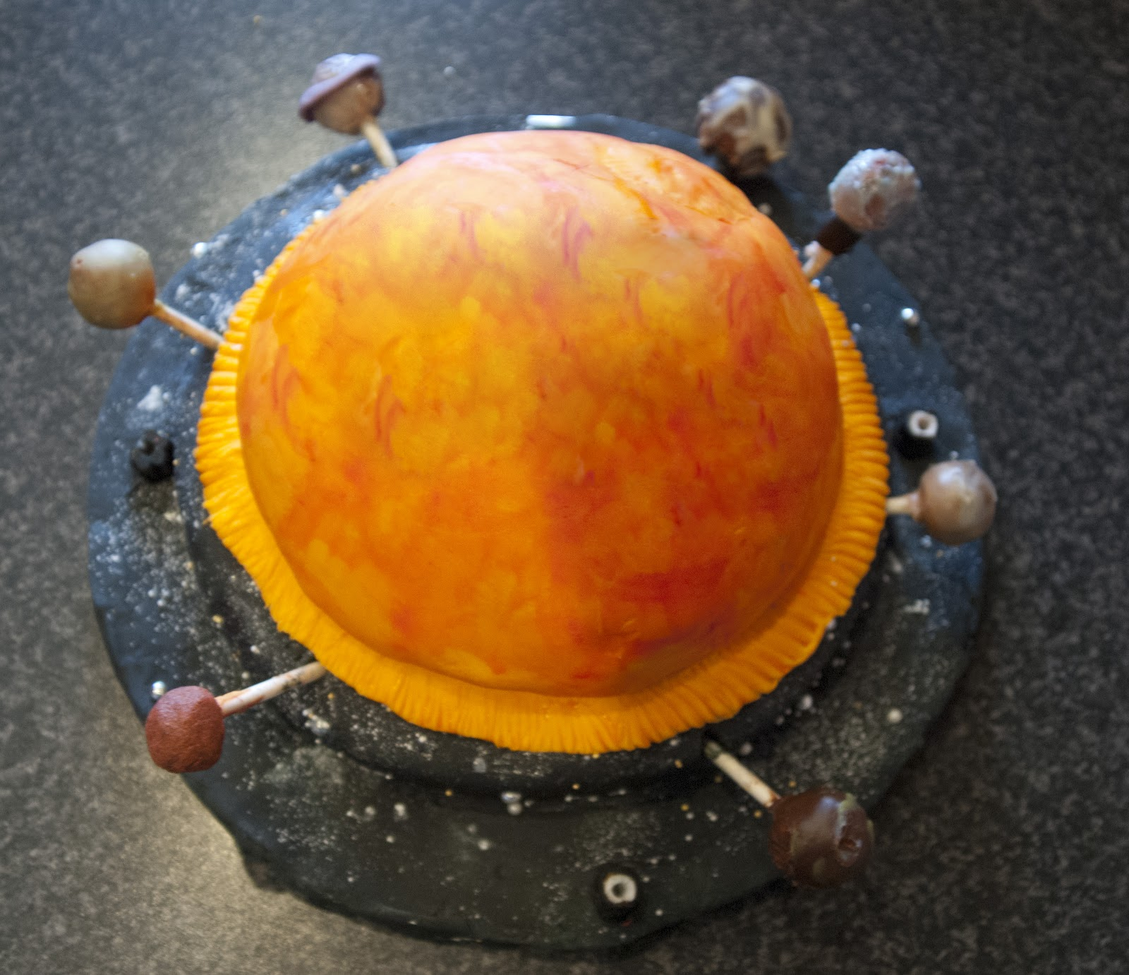 Solar System Wedding Cake - Pics about space