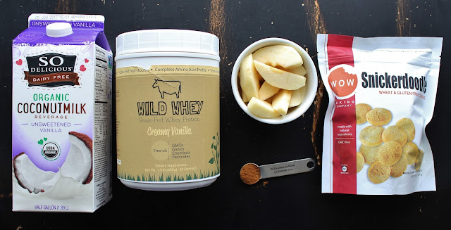 Apple Cinnamon Snickerdoodle Smoothie Bowl Ingredients
