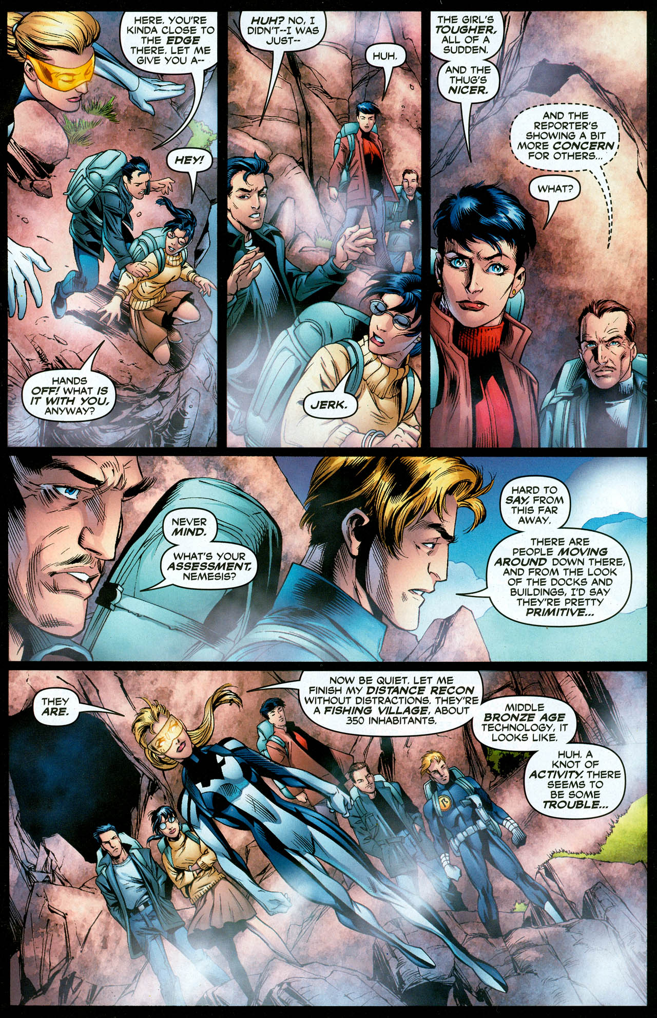 Read online Trinity (2008) comic -  Issue #28 - 12