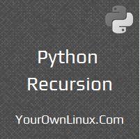 python-recursion-recursive-function