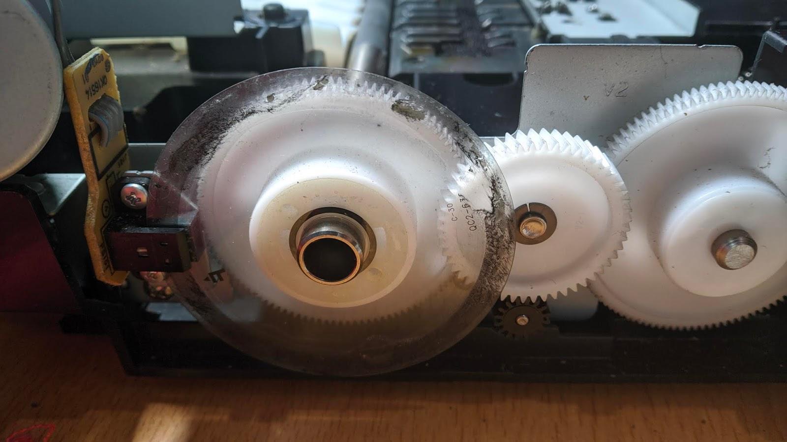 Printer Canon MP287 Error E03