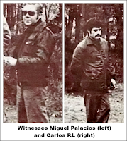Witnesses Miguel Palacios (left) and Carlos P.L. (right)