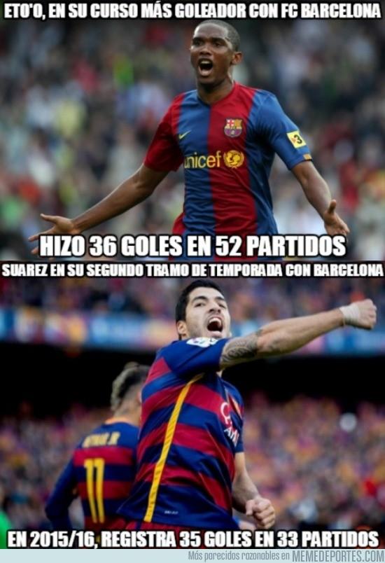Etoo' vs Suárez