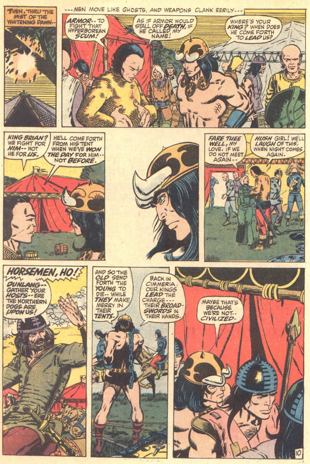 Conan the Barbarian (1970) Issue #3 #15 - English 11