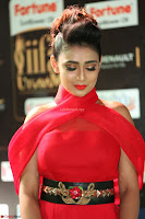 Apoorva in a Stunning Tight Leg Split Sleeveless Red Gown at IIFA Utsavam Awards 38.JPG