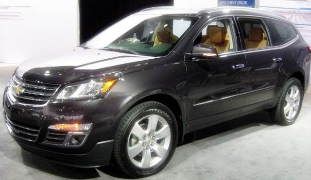 2018 Chevy Traverse Redesign