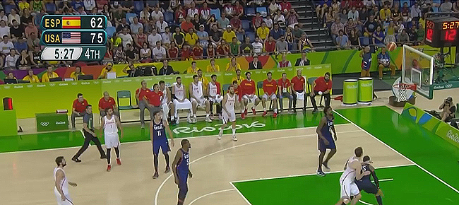 USA vs. Spain - SEMIS Full Highlights (VIDEO) Rio Olympics 2016 - Basketball