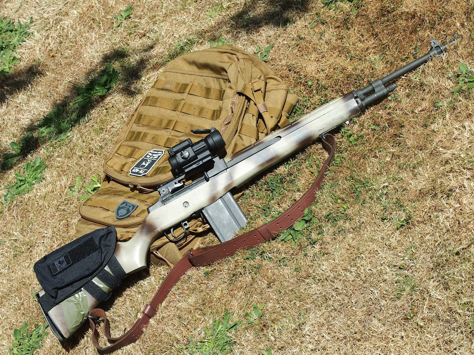 Mister Donuts Firearms Blog M14 With Aimpoint Pro