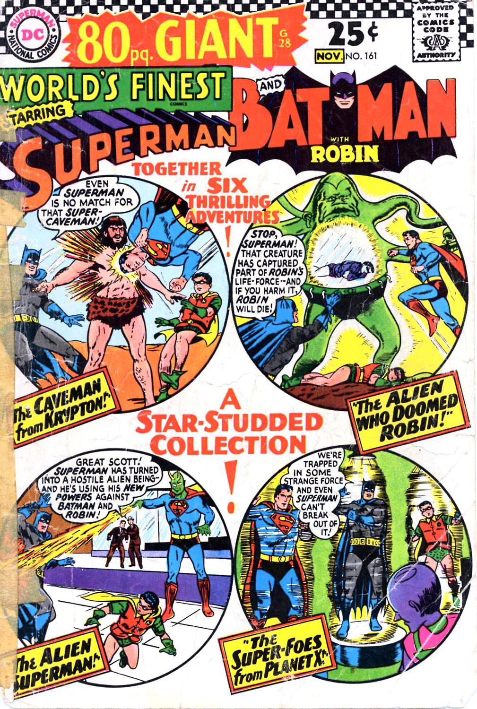 Read online World's Finest Comics comic -  Issue #161 - 1