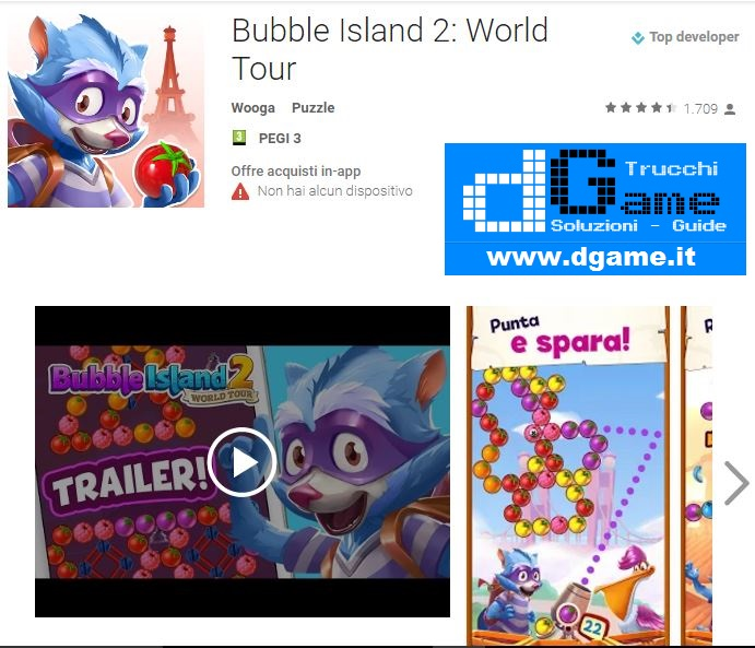 Soluzioni Bubble Island 2: World Tour di tutti i livelli | Walkthrough guide