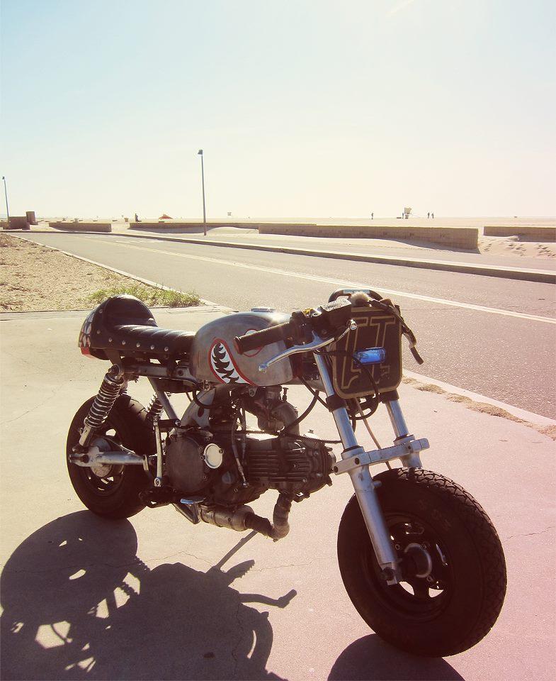 the Hayabusa of mini bikes : motorcycles