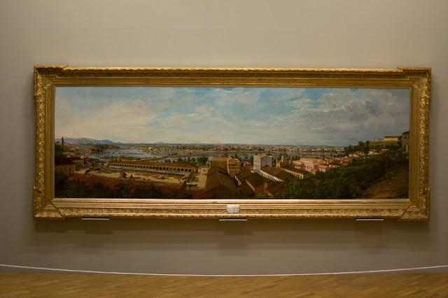 inundacao da varzea do carmo pinacoteca quadro sao paulo