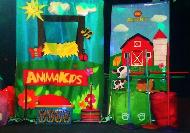 animacion de cumpleaños la granja
