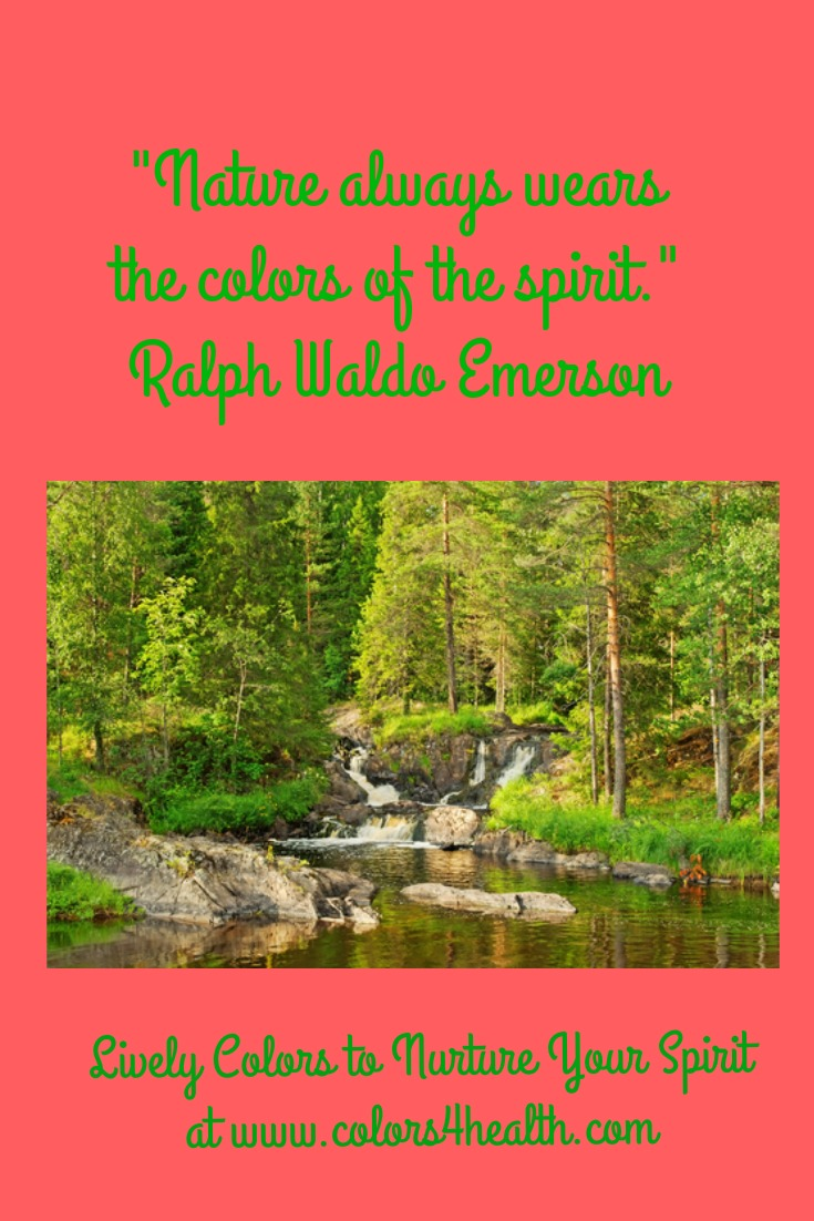 nature always wears the colors of the spirit meaning