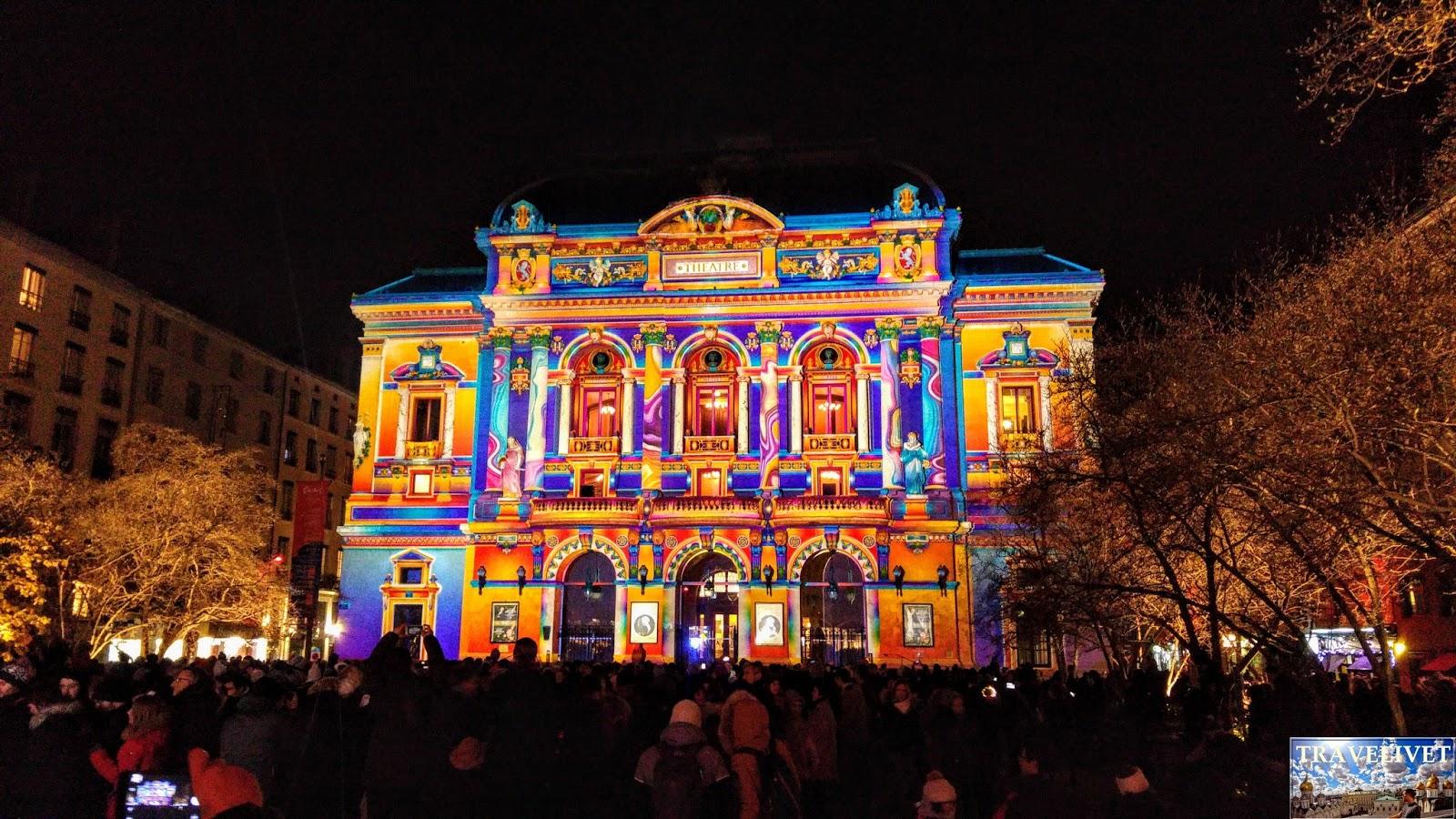 France Lyon fête des lumières